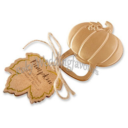 $enCountryForm.capitalKeyWord UK - FREE SHIPPING 24PCS Pumpkin Bottle Openers Fall Autumn Themed Bridal Shower Wedding Favors Engagement Party Gifts Event Giveaways
