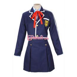 Sword art coSplay online shopping - Hot Japanese Anime Sword Art Online Asuna Cosplay Costumes School Uniform