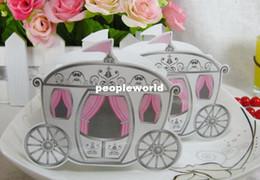 $enCountryForm.capitalKeyWord Canada - Cinderella Enchanted Carriage Marriage Box Wedding Favor Gift boxes Candy box