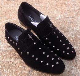 Polishing black dress shoes