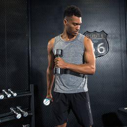 $enCountryForm.capitalKeyWord Canada - Brand Mens Vest Gyms Tank Tops Bodybuilding Fitness Men Quick Dry Singlets Plus Size Sporting O-Neck Sleeveless T Shirt Men