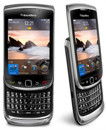 "Discount wholesale unlocked cell phones - Refurbished Original Blackberry Torch 9800 Unlocked Cell Phone QWERTY 3.2"" Inch Screen WiFi GPS 5.0MP 3G"