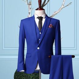 Discount Grey Suits Royal Blue Ties | 2017 Grey Suits Royal Blue ...