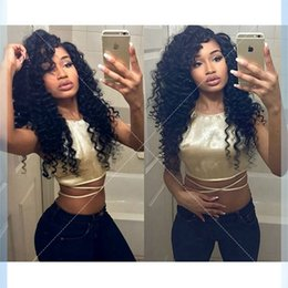 $enCountryForm.capitalKeyWord Canada - 8A Grade Unprocessed Brazilian Virgin Hair Full Afro Kinky Curly Full Lace Human Hair Wigs Top Quality Lace Front Human Hair Wig