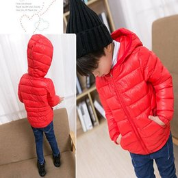 $enCountryForm.capitalKeyWord Canada - Fashion winter coat for children girls warm jacket clothing solid kids boys thicker jacket hooded clothes 2-8year old baby tops clothing