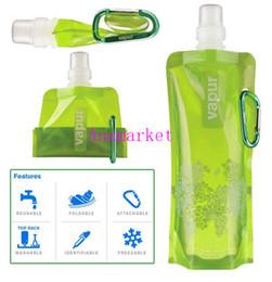 $enCountryForm.capitalKeyWord Canada - Free Shipping Portable Folding Sports Water Bottle For Sports  Foldable Bag Travel Mug For Sports  Water Bag Novelty Items DHL FEDEX FREE