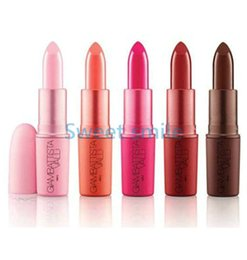 $enCountryForm.capitalKeyWord UK - High Quality Giambattista Matte Lipstick Brand Makeup 5 Colors With English Name 3g free shipping