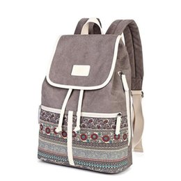$enCountryForm.capitalKeyWord UK - Canvasartisan Top Quality Canvas Women Backpack Casual College Bookbag Female Retro Stylish Daily Travel Laptop Backpacks Bag