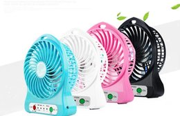 $enCountryForm.capitalKeyWord Canada - Newest Portable Mini USB Fan Indoor Outdoor Kids Fans Charging 18650 Battery Powered Handheld cooler fan Cooling table Fan