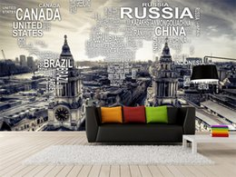 world map murals Australia - world map wallpaper mural wall wallpaper nostalgic vintage map of the world 3d three-dimensional wallpaper for Living room