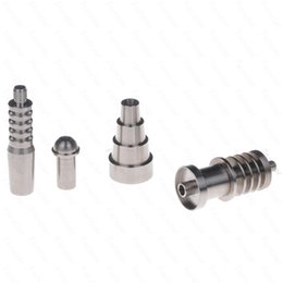 $enCountryForm.capitalKeyWord NZ - 6 in 1 Domeless Titanium Nail Titanium GR2 Nails joint 10mm 16mm and 20mm Glass bong water pipe glass pipes Universal and Convenient