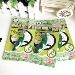 $enCountryForm.capitalKeyWord NZ - Wholesale-Japan Infinite Green Bean Squeeze Toy Cell Phone Charm Free Shipping