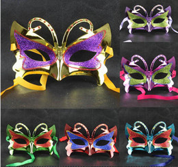 $enCountryForm.capitalKeyWord Canada - Sexy Charm Glitter Rhinestone Butterfly Style Mask Women's Party Masquerade Eye Mask Party Ball Masquerade Fancy Dress