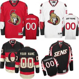 17361ffecc2 ... Discount senator hockey jersey Customized Mens Ottawa Senators Custom  Any Name Any Number Ice Hockey Jersey ...