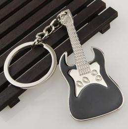 $enCountryForm.capitalKeyWord Canada - Guitar Metal Keychains Multicolor Creative Musical Instruments Guitars Key Chain Keyrings Zinc Alloy Mini Keychain Keyfob Lovers Gift