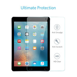 ipad mini pack Australia - wholesale Tempered Glass Screen Protector Anti Scratch & Anti Shatter film HD Clear For For IPAD mini 1 2 3(without packing)