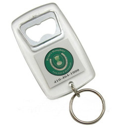 "Chinese  500X BlANK ACRYLIC RECTANGLE BOTTLE OPENER KEYCHAINS LITE BEER BIER METAL INSERT PHOTO 1.5""x 1.5"" manufacturers"