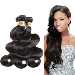 Discount clearance hair extensions 2018 human hair extensions clearance sale8a quality human hair body wave 8 to 30inches 3pcs lot natural black color hair weaves unprocessed hair extensions clearance hair extensions pmusecretfo Gallery
