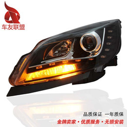 Headlamp Assemblies Canada - Buick Hideo GT headlight assembly adapted Hideo GT xenon headlamps lamp Hideo GT lamp lens
