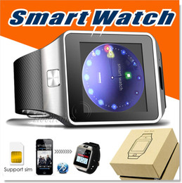 Watchs phone online shopping - Bluetooth smartwatch with Camera smart watch watchs for android apple Samsung smart phone with Passometer Sleep Tracker Sedentary Remind