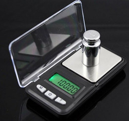 Coin Scale NZ - 50pcs Mini LCD Electronic Pocket 200g x 0.01g Jewelry Gold Coin Digital Scale Scales Balance Portable