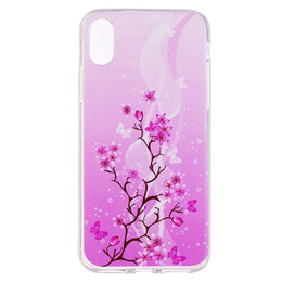 rubber flowers NZ - For Iphone X Samsung Galaxy J3 J5 J7 2017 S7 S8 Plus Flower TPU Soft Case Cartoon Marble Cat Smile flamingo Wind chimes Rubber Skin Cover