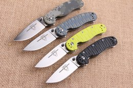 Military Tools Canada - Adventure Ontario Rat Model 2 Tactical Folding Knife ASU-8 G10 Handle Outdoor Hiking Hunting Survival Pocket Knife Military Utility EDC Tool