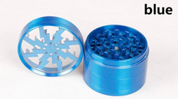 China 100% Original Herb Grinders 63mm Zinc Alloy Grinders With Clear Top Window Lighting Grinder VS Sharpstone Grinders suppliers
