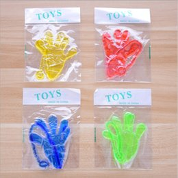 Slap hand toy online shopping - Mini Sticky Jelly Stick Slap Squishy Hands Toy Halloween Party Supply Kid Venting Toys Multi Color hp C