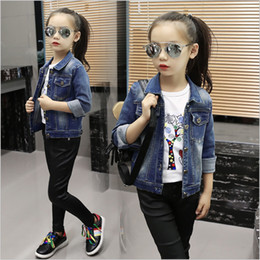 Discount Girls Short Jeans Jacket | 2017 Girls Short Jeans Jacket ...