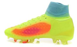 Winter nails online shopping - Magista orden II FG Soccer Shoes new Ghost card two generation high Bangnan FG PU in the end surface of nail version of football shoes