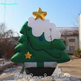 3m height outdoor christmas inflatable christmas tree for christmas decoration