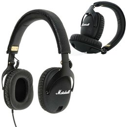 Chinese  Marshall Monitor Headphones Noise Cancelling Headset Deep Bass Studio Rock DJ Hi-Fi Guitar Rock Headphone Earphone With Mic High Quality manufacturers