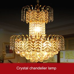 $enCountryForm.capitalKeyWord Canada - Luxury Tranditional Crystal Pendant Lamp K9 Crystal Curtain Design Rain Drop Chandelier Light Staircase Home Decoration