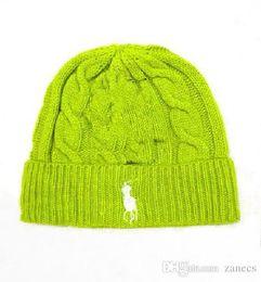 Cap Fur Ball Top Canada - Top Quality New Fashion Men Women Skullies Beanies Knit Winter Hat Cap With Real Fur Pom pom Ball Women Wool Knitted Fur Hats
