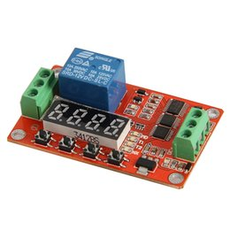 Time delay locks online shopping - 12V DC Multifunction Auto lock Relay PLC Cycle Timer Time Delay Switch Module