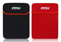 Laptop Sale Factory Canada - Factory wholesale sales of fashionable men and women MSI MSI Z70 laptop bag 17.3 -inch notebook sleeve to protect sack Shockproof waterproof