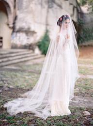 $enCountryForm.capitalKeyWord Australia - Best Selling Elegant Luxury Real Picture High Quality Romantic Amazing Chapel Cut Edge Veil Bridal Head Alloy Comb For Wedding Dresses