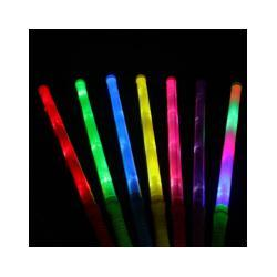 Flashing Wand Wholesale Canada - LED Magic Wand Color Changing Flash Torch Glow Light Stick for Party Concert Plastic electronic colorful fluorescence stick M092
