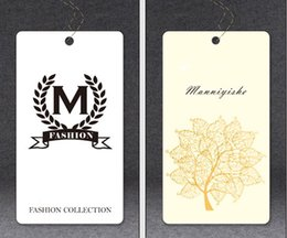 Garment Printed Hang Tags Online | Garment Printed Hang Tags for Sale