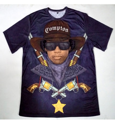 Sublimation T Shirt Printing Canada - Real USA Size Native Eazy E 3D Sublimation print T-Shirt Plus size