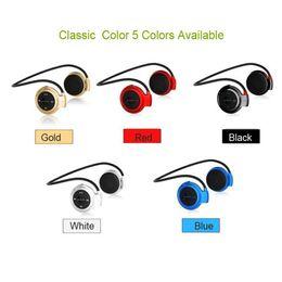 Wireless Usb Music Headphones Canada - Cheapest Mini 503 Wireless Bluetooth Stereo Headphone Handsfree Sports Music in-ear Earphone Headset for iPhone iPad Samsung
