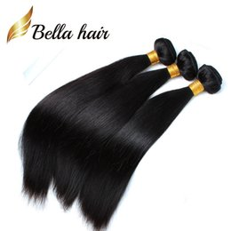 Chinese  (Only to USA)Cheapest Braid Donor Hair 100 Indian Human Hair Extensions 12-14-16-18-20-22-24inch for Black Women Bella Hair 3 4 5pcs per lot manufacturers