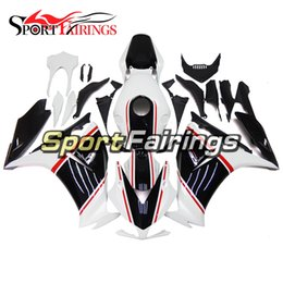 Black White Motorbike Fairing Canada - Complete Fairings Black White Pearl For Honda CBR1000RR Year 2012 2013 2014 2015 Injection ABS Motorcycle Fairing Kit Motorbike Cowling