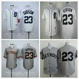 c2fa5a98921 ... Detroit Tigers 23 Kirk Gibson White Home Throwback Jersey ...