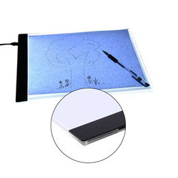 $enCountryForm.capitalKeyWord UK - Ultrathin A4 Quality Pratical 4mm Drawing Copy Board Animation Copy Tracing Pad Board Led Light Box Without Radiation Tool