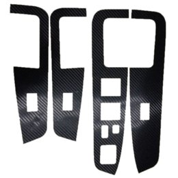Chinese  For Mitsubishi Outlander 2010 2011 2012 car interior sticker car styling carbon fiber auto part 12pcs per set manufacturers
