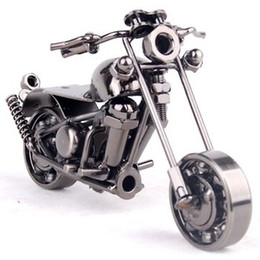 wrought iron models 2019 - 2016 1pcs New arrival Motorcycle ornaments, home crafts, model, Valentine's Day gift for boyfriend, Wrought iron ch