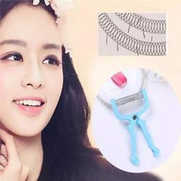 Tools for shaving online shopping - Facial Hair Epilator Hair Removal Device Sale Plastic Resin Stainless Steel Spring Face Hair Shaving Tool Epilator for Face CCA6825