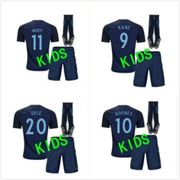 ... 17 18 kids World Cup Soccer jersey Kits england ROONEY KANE STURRIDGE  STERLING HENDERSON VARDY 2018 Nike England Away Kit 2017 Baby ... e88928fcb